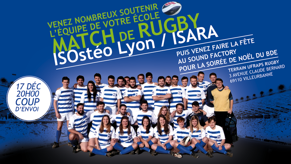 ISOstéo RUGBY