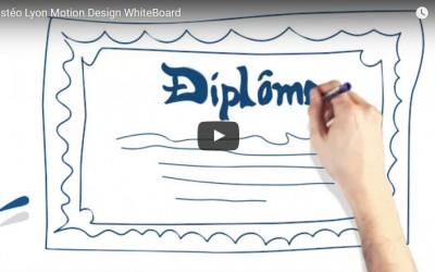 Vidéo : Motion Design l'Ostéopathie