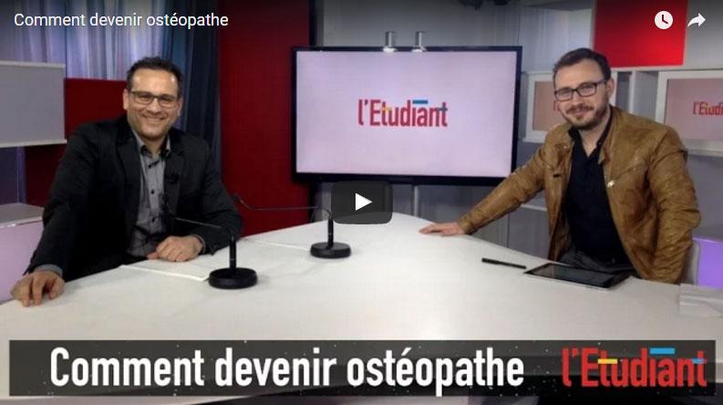 Vidéo : Comment devenir Ostéopathe