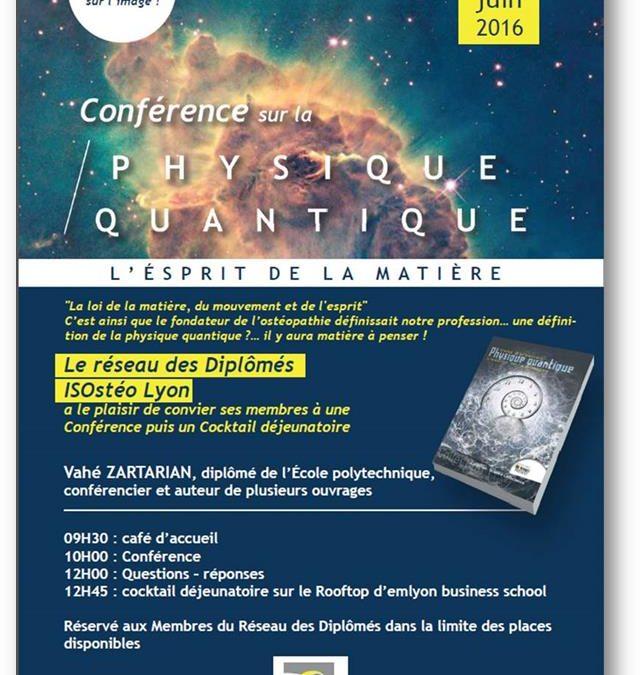 18 juin : conférence Physique Quantique