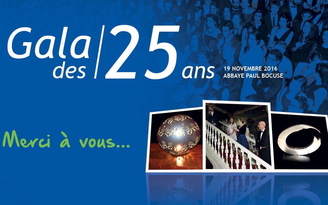 Gala des 25 ans : les photos!